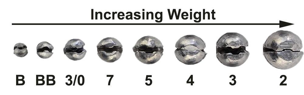 Fishing Sinkers   Types, Sizes & Uses | BadAngling